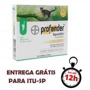 Profender 0,35Ml Vermifugo Gatos 0,5 A 2,5Kg Spot On Bayer