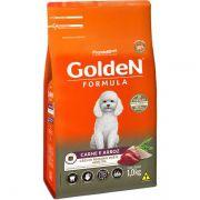 Ração Golden Carne E Arroz Para Cães Adultos Raças Pequenas Premium Especial
