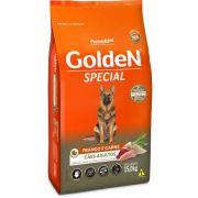 Ração Golden Especial Frango E Carne Para Cães Adultos Premium Especial