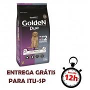 Ração Golden Para Cães Adultos Duo Cordeiro Premium Especial 15 Kg
