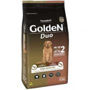 Ração Golden Para Cães Adultos Duo Frango Premium Especial 15 Kg
