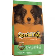 Ração Special Dog Junior Vegetais Para Cães Premium