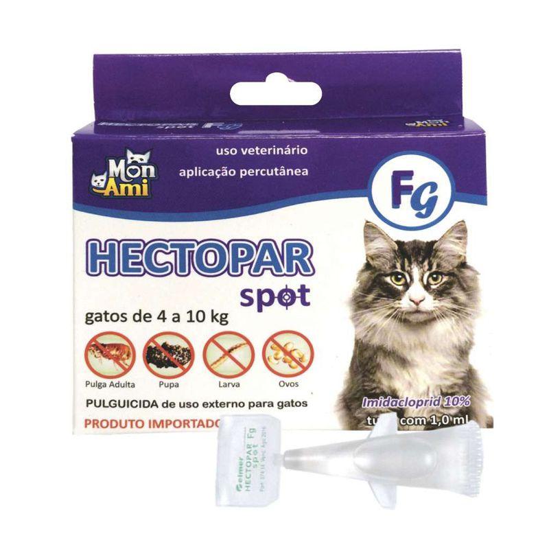 Antipulgas Gatos Hectopar (1.0 Ml) 4 A 10 Kg