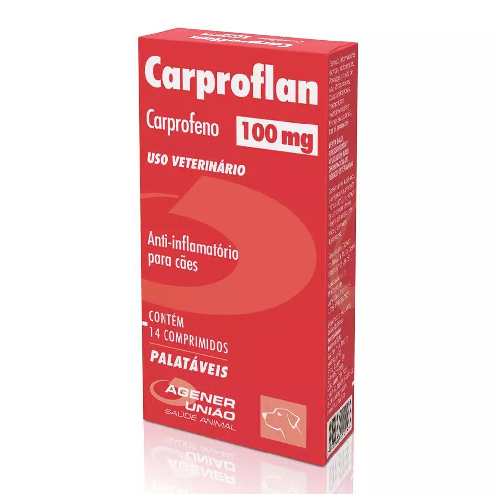 Carproflan 100 Mg - 14 Comprimidos