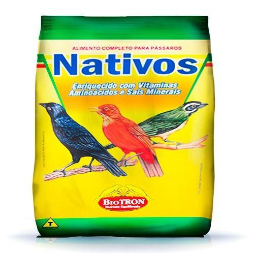 Combo Alimentos Extrusado Passaros Saporitos + Nativos