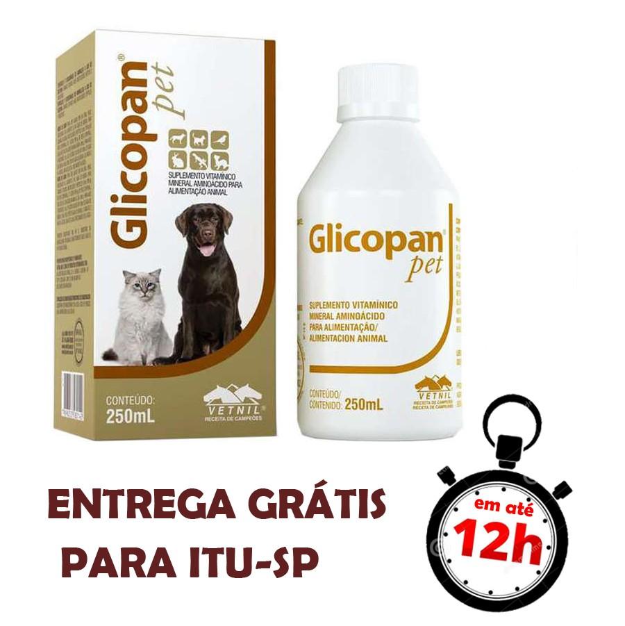 Glicopan Pet Suplemento Vitamínico Mineral Aminoácido