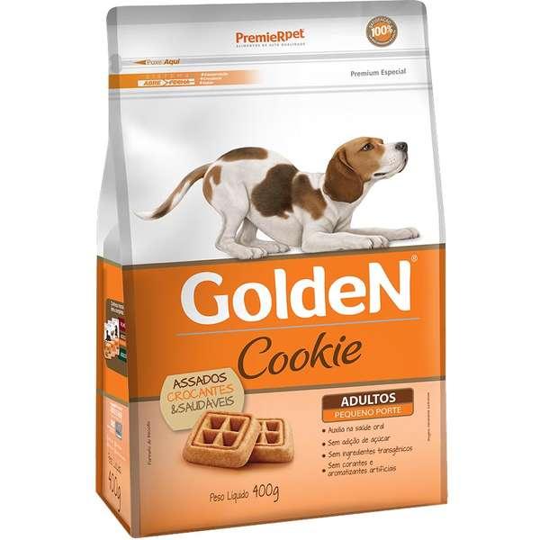 Golden Cookies Para Cães Adultos Pequeno Porte 400G