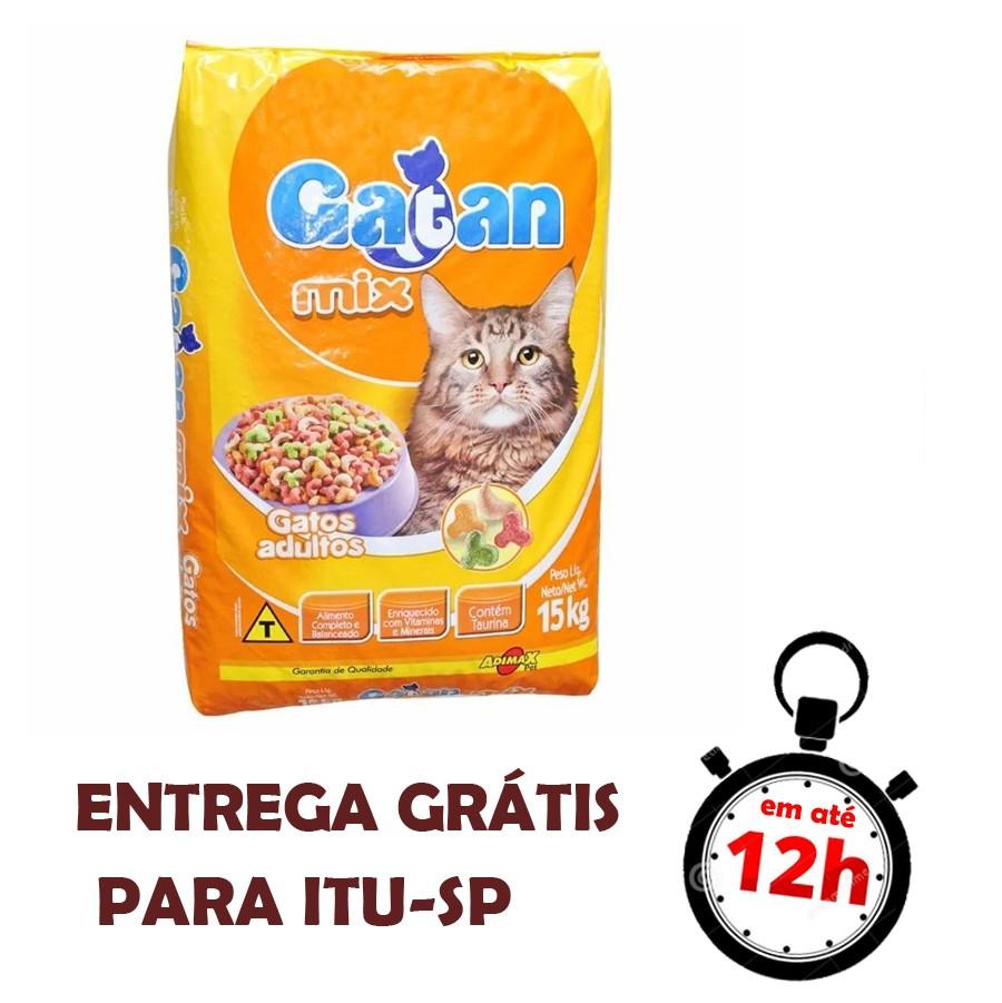 Ração Gatan Mix 15Kg