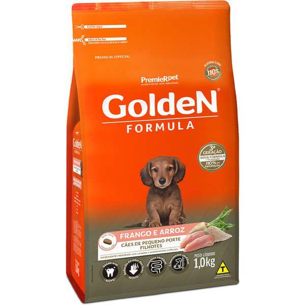 Ração Golden Frango Para Cães Filhotes Pequeno Porte Premium Especial