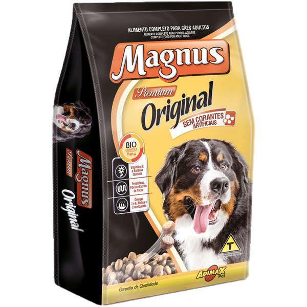 Ração Magnus Original Para Cães Adultos Premium 15Kg