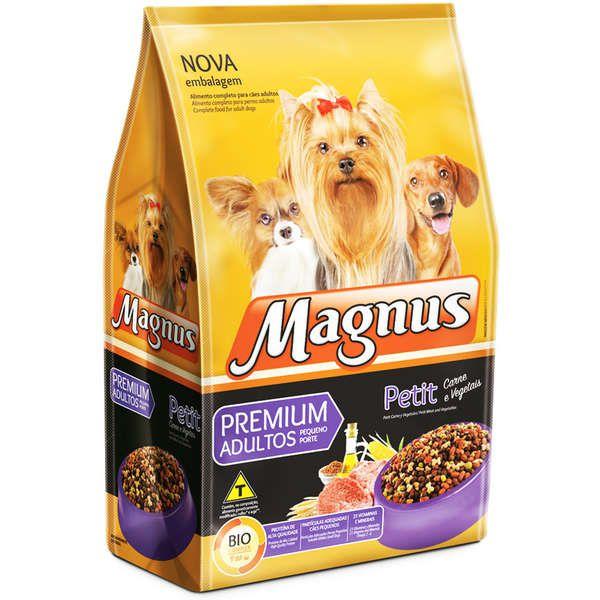 Ração Magnus Petit Para Cães Adultos Porte Pequeno Premium 25Kg