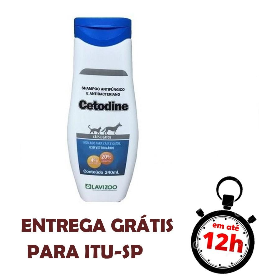 Shampoo Antifúngico Cetodine 240Ml Lavizoo