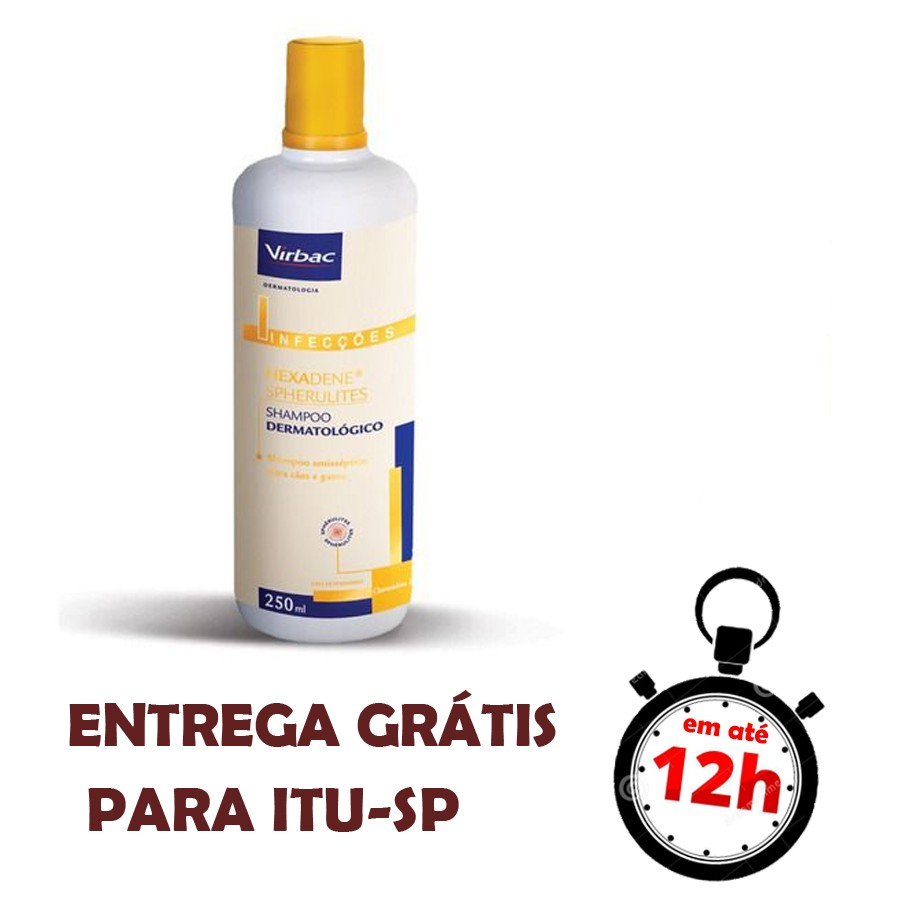 Shampoo Hexadene Spherulites 250 Ml
