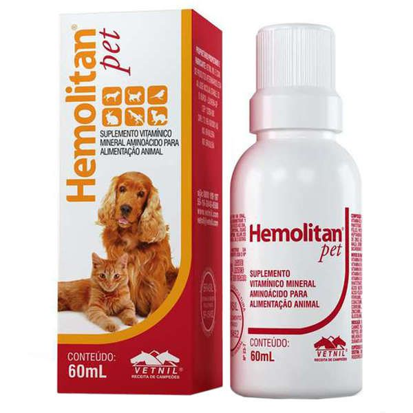 Suplemento Hemolitan Pet Gotas