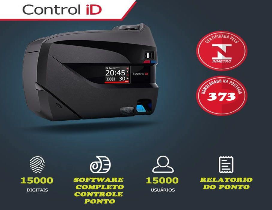 Resultado de imagem para relogio de ponto control id sem impressora portaria 373