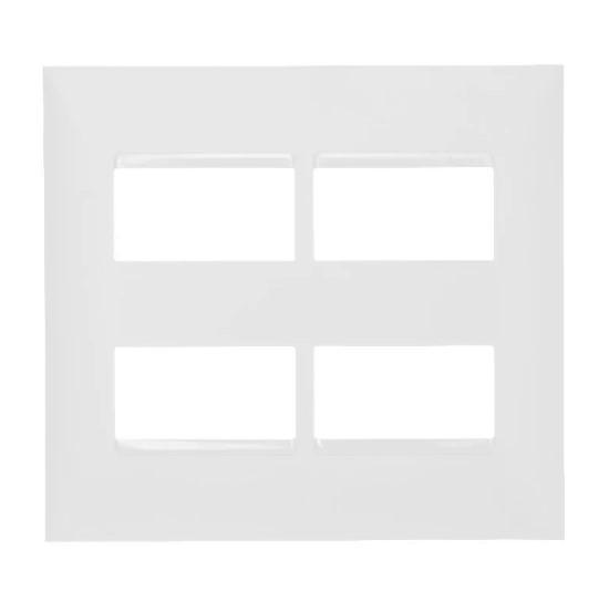 PLACA BASICA 4X4 2+2 POSTOS SEPARADOS PIAL PLUS+ REF:618514BC
