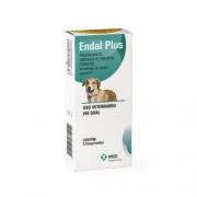 Endal Plus 4 comprimidos para Cães de 10kg - Vermífugo