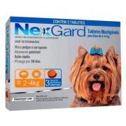 Nexgard para Cães entre 2 e 4kg - 3 Tabletes