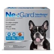 Nexgard para Cães entre 4,1 e 10kg - 1 Tablete
