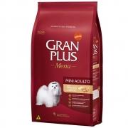 Ração Gran Plus para Cães Adultos Raças Mini Frango Arroz 10,1kg