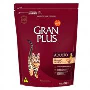 Ração Gran Plus para Gatos Adultos Frango e Arroz  - 3 kg
