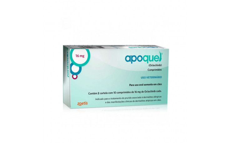 Apoquel 16mg - 20 Comprimidos