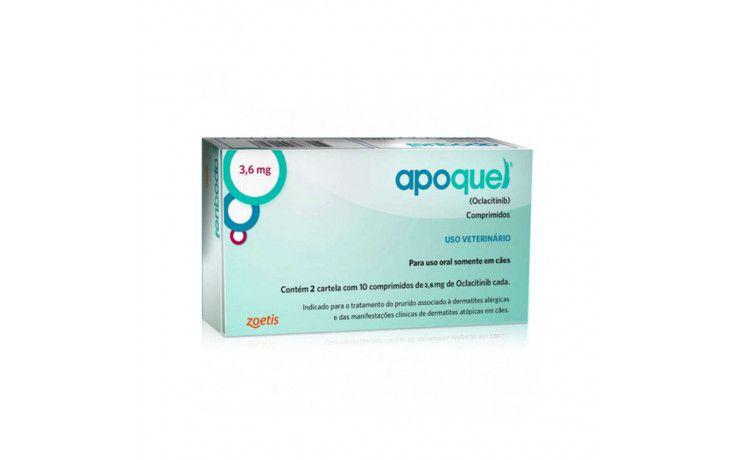 Apoquel 3,6 Mg - 20 Comprimidos