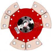 DISCO DE EMBREAGEM FIAT UNO 1.5 1.6 ../94 17 ESTRIAS 190MM 6 PAST. S/ MOLA - CERAMIC POWER