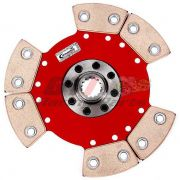 DISCO DE EMBREAGEM VW AP 6 PAST. S/MOLA  CUBO CHEVETTE - CERAMIC POWER