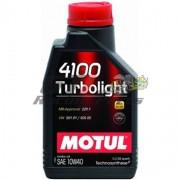 ÓLEO MOTOR 10W40 4100 TURBOLIGHT MOTUL 1L