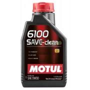 ÓLEO MOTOR 5W30 6100 SAVE CLEAN C2 MOTUL 1L