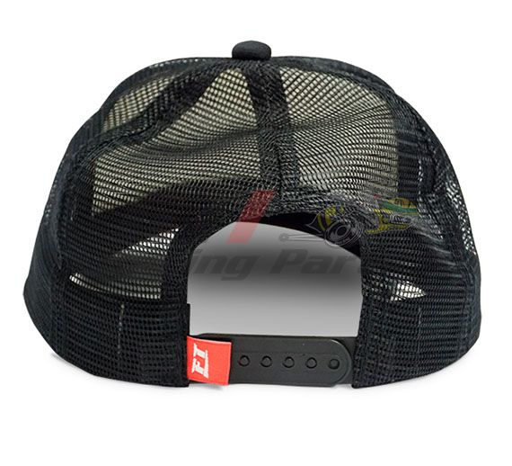 BONE FUELTECH TRUCKER - PRETO / BRANCO
