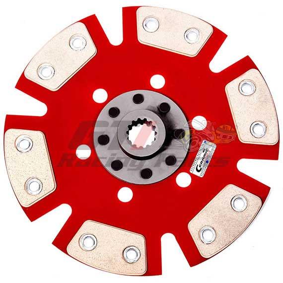 DISCO DE EMBREAGEM GM OPALA 4CC 6CC 73/.. ESTRIA FINA 6 PAST. S/ MOLA - CERAMIC POWER