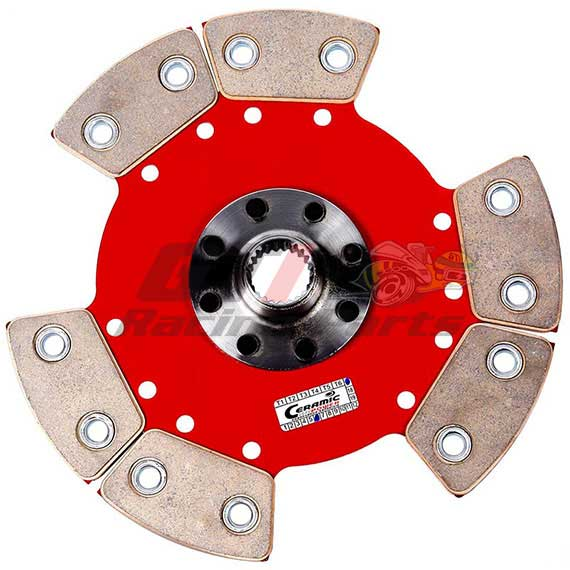 DISCO DE EMBREAGEM VW AP 6 PAST. S/ MOLA CUBO GTI - CERAMIC POWER