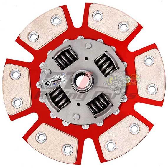 DISCO DE EMBREAGEM VW GOLF / BORA 2.0 6 PAST. C/ MOLA - CERAMIC POWER