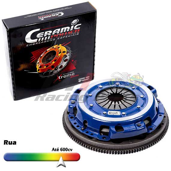 EMBREAGEM MULTIDISCO VW AP LIGHT 600CV - 12KG - CERAMIC POWER