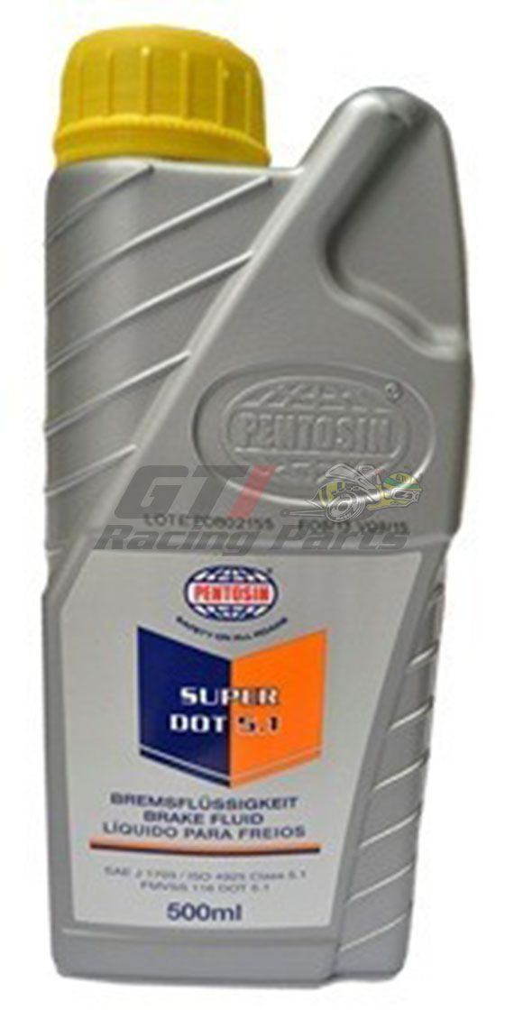 FLUIDO DE FREIO SUPER DOT 5.1  PENTOSIN 500ML