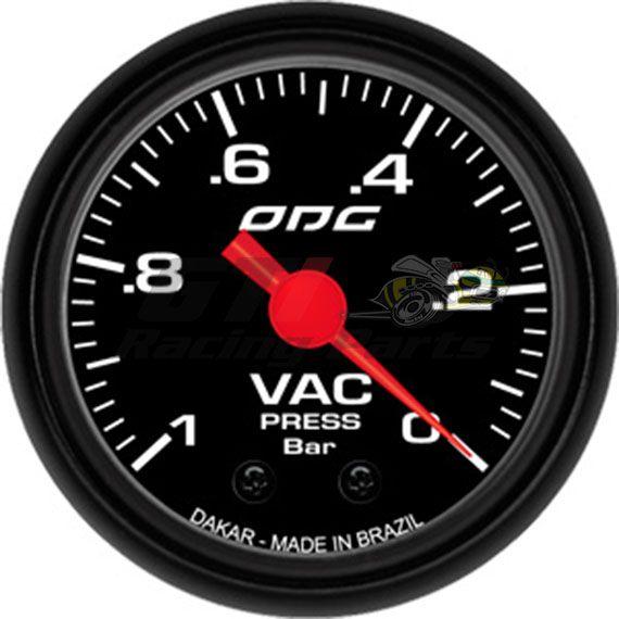 MANOMETRO VACUOMETRO -1 BAR DAKAR 52MM