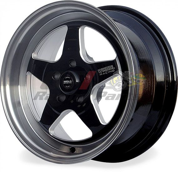 "RODA REPLICA WELD RT-S BLACK 15"" X 7"" - 5 X 114 - RAW WELD"