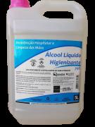 Álcool Líquido 70%  galão 5 Litros