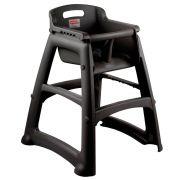 Assento Infantil Sturdy Chair® Cadeirão Alimentação Preto - Rubbermaid
