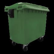Contentor de Lixo 1000 Litros de Alta Resistência - Contemar