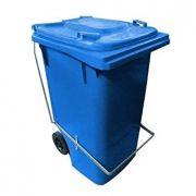 Contentor de Lixo 240 Litros com Pedal