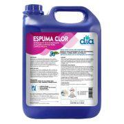 Detergente e Desincrustante Alcalino Clorado Concentrado Espuma Clor 5 Litros