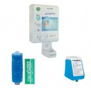 Machfloss Evolution 3X1 - Dispenser de Fio Dental + Enxaguante Bucal + Porta Copos