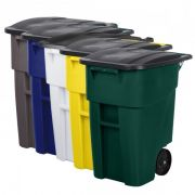 Recipiente Brute com Rodas e Tampa 190L - Rubbermaid