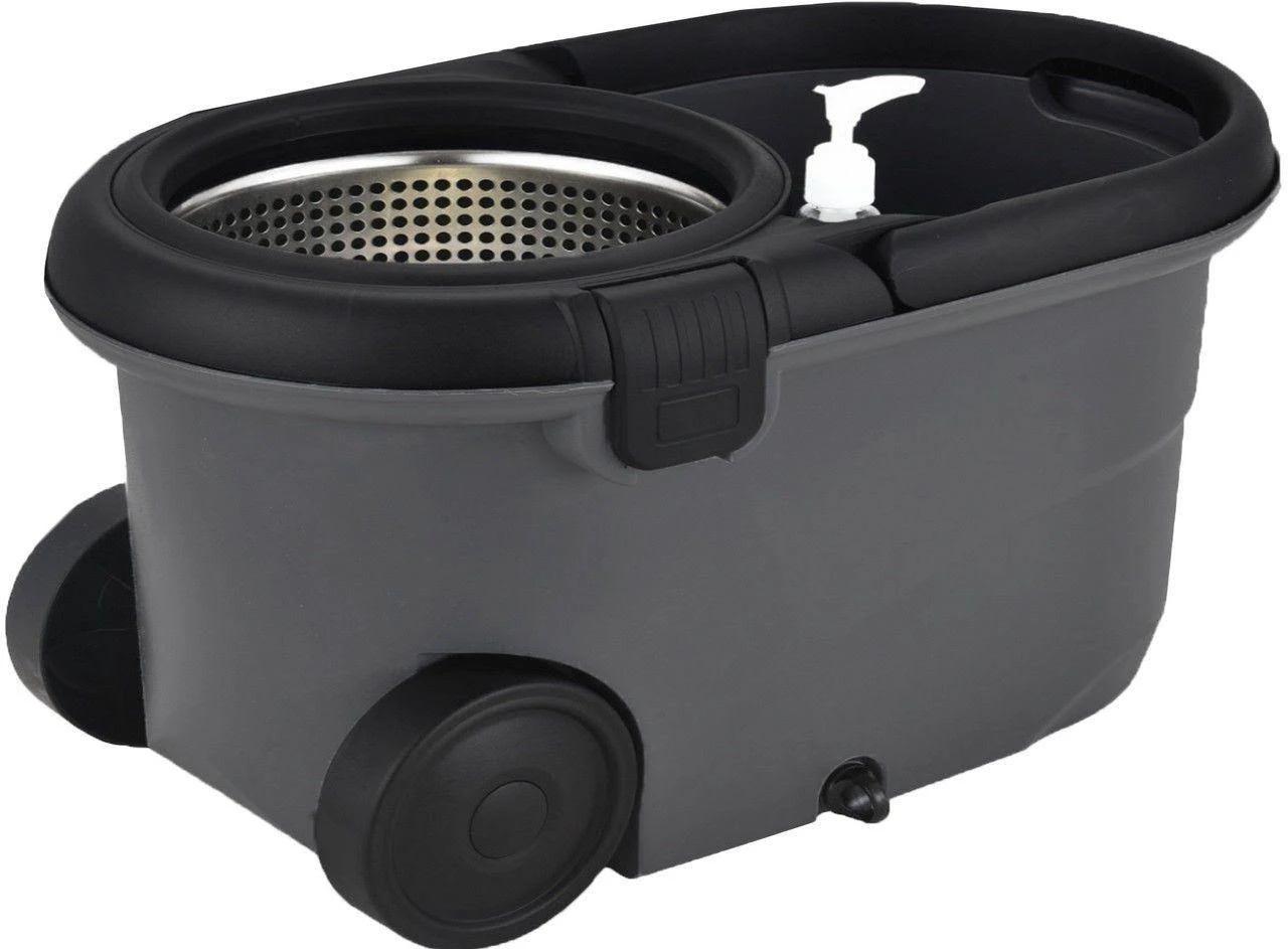 Balde Plástico Perfect Mop Move 360 Inox Com 3 Refis