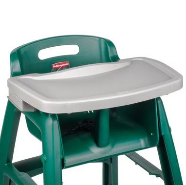 Bandeja para Assento Infantil Sturdy Chair® - FG781588PLAT - Rubbermaid