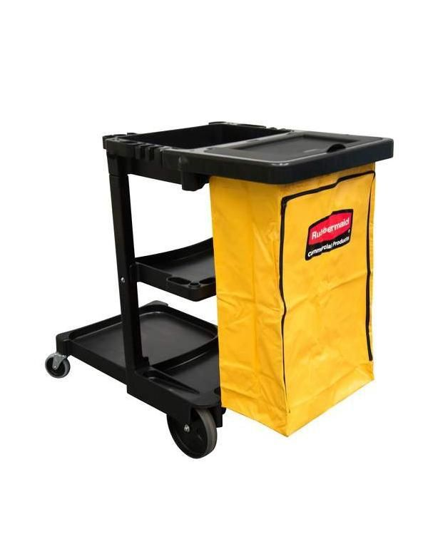 Carro Funcional Preto - 1805985 - Rubbermaid