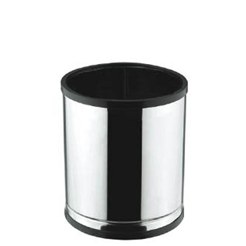 Cesto para Lixo em Aço Inox com Aro Plástico 7L - Viel